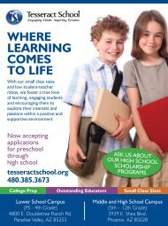 Where Learning Comes to Life - Parent's Resource Guide