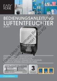 LUFTENTFEUCHTER - parhammer-electronic.at