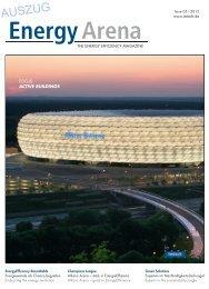 Symbiose aus Nachhaltigkeit und Design, Energy Arena ... - paribus