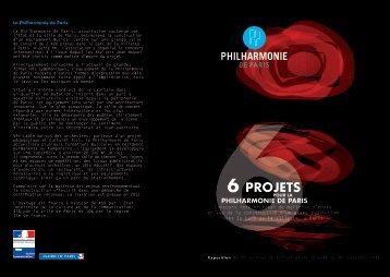 6 PROJETS - Ecole Nationale Supérieure d'Architecture de Paris La ...