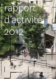 RA 2012 INT def.indd - Ecole Nationale Supérieure d'Architecture ...