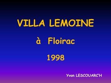 Villa lemoINE