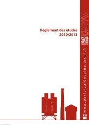 Télécharger le règlement des études - Ecole Nationale Supérieure d ...