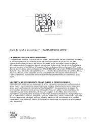 Chenzu Sun - Paris Design Week