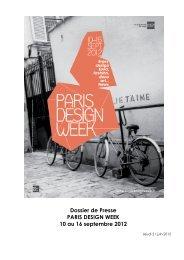 inedit concept - Paris Design Week