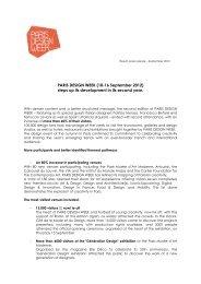 PARIS DESIGN WEEK (10-16 September 2012) steps up its ...