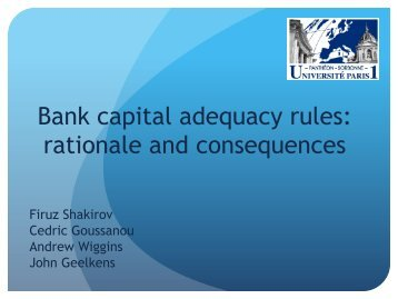 slides - Paris School of Economics