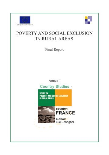 social structure and poverty The individualistic and the pathological theories of poverty explains and blames the individual for  an unfavourable position in a restrictive social structure.