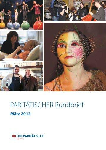 Berliner Bestell-Fax für Themenhefte - Der Paritätische Berlin