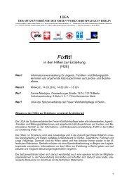 Fixfit! - Der Paritätische Berlin