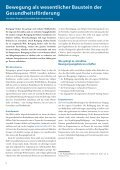 Bewegung hält gesund - Der Paritätische Berlin - Page 6