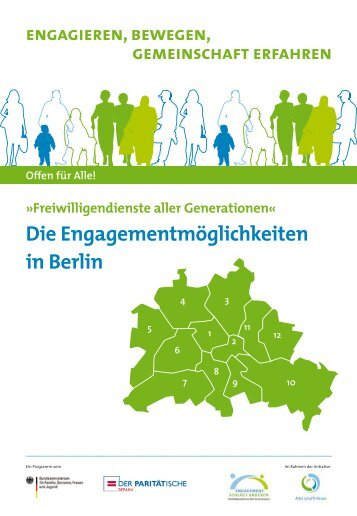 Die Engagementmöglichkeiten in Berlin - Berlin.de
