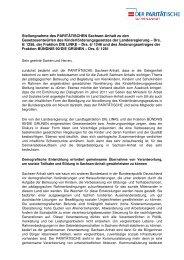 Stellungnahme des PARITÄTISCHEN Sachsen-Anhalt - Der ...