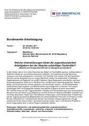 Tagungsprogramm - Der PARITÄTISCHE Sachsen Anhalt