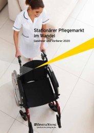 Stationärer Pflegemarkt im Wandel - Ernst & Young