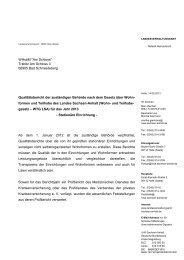 formen und Teilhabe des Landes Sachsen-Anhalt (Wohn- und - Der ...