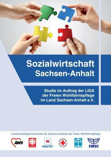 """Studie: """"Sozialwirtschaft"""" Sachsen-Anhalt - LIGA der Freien ..."""