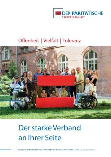 Der starke Verband an Ihrer Seite - Der PARITÄTISCHE Sachsen ...