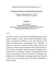 60 Jahre Richtung Zukunft - Landesverband Paritätischer ...