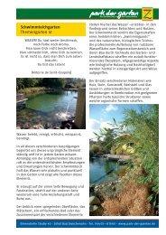 Schwimmteichgarten Themengarten 41 - Park der Gärten