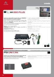 MI-060 PLUS PSI- UNI CAN - parkeersensoren.com