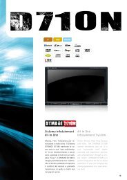 Sistema infotainment All-In-One All-In One infotainment System