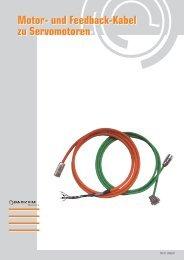 Motor- und Feedback-Kabel zu Servomotoren Motor ... - Parkem AG