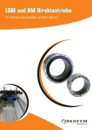LSM und RM Direktantriebe - Parkem AG