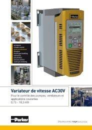 Variateur de vitesse AC30V