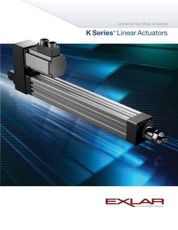 K Series™ Linear Actuators