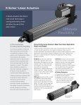 K Series™ Linear Actuators - Page 2