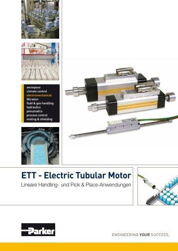 Parker-ETT-Electric-Tubular-Motor - NOLD Hydraulik + Pneumatik ...
