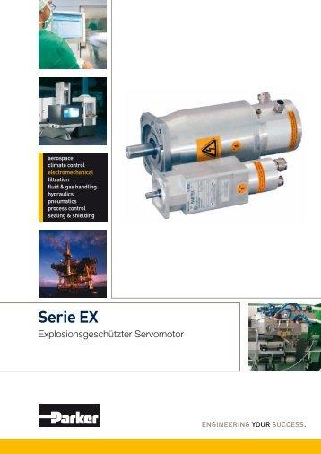 Explosionsgeschützter Servomotor - Serie EX