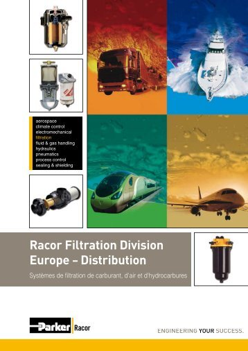 Racor Filtration Division Europe – Distribution - Parker
