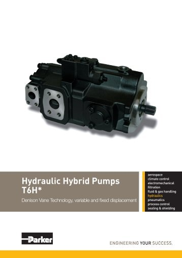 Catalog Hy03 1800 Us Hydraulic Rotary Actuators Parker