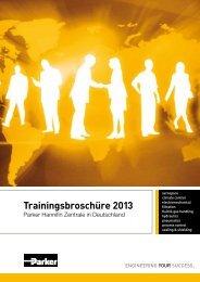 Trainingsbroschüre 2013 - Parker