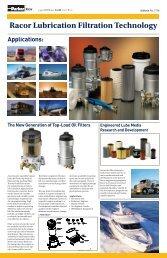 Racor Lubrication Filtration Technology - Parker
