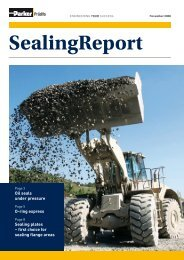 November 2008 SealingReport - Parker