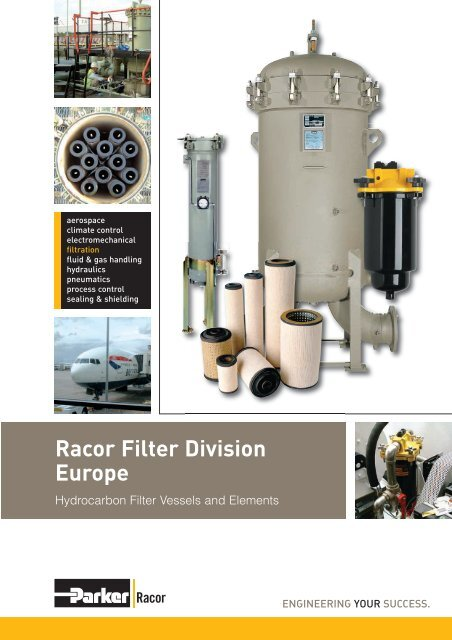hydrocarbon filter elements