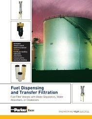 Fuel Dispensing and Transfer Filtration - Parker