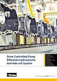 die Drive Controlled Pump - Parker