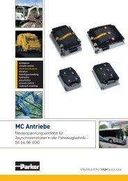 MC Antriebe: Niederspannungsantriebe für ... - Parker