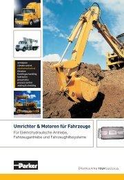 Inverter und Motoren für Fahrzeuge: Antriebe für Hydraulik ... - Parker
