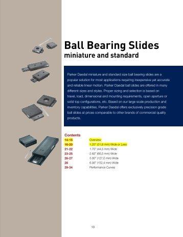 Ball Bearing Slides