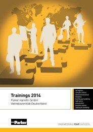 Trainings 2014 - Parker