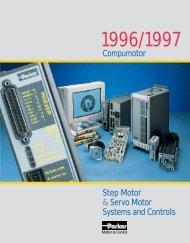 Compumotor Step Motor & Servo Motor Systems and Controls