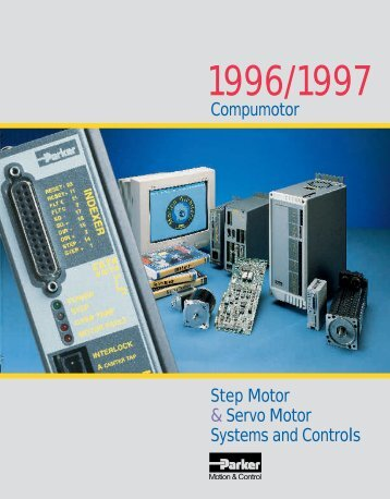 Compumotor Step Motor & Servo Motor Systems and Controls