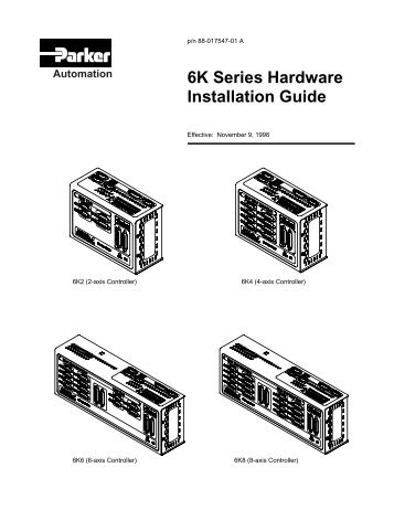 6K Series Command Reference
