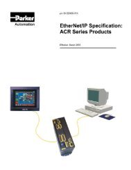EtherNet/IP Specifications