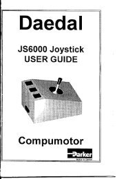 JS6000 Joystick User Guide